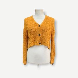 American Eagle Oversized Crochet Cardigan